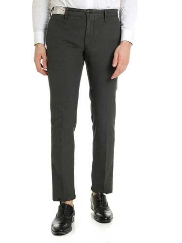 Picture of INCOTEX | Men's Stretch Micropattern Trousers