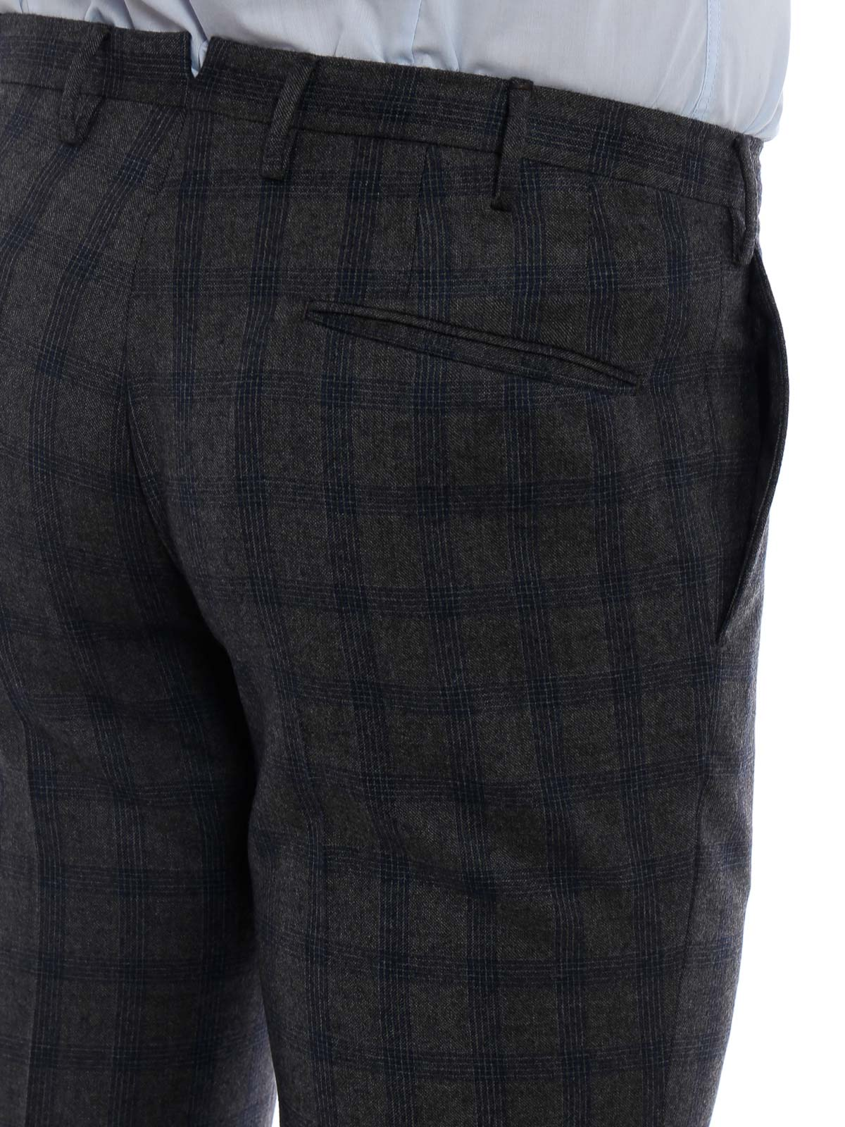 Picture of INCOTEX | Men's Super 100's Wool Trousers