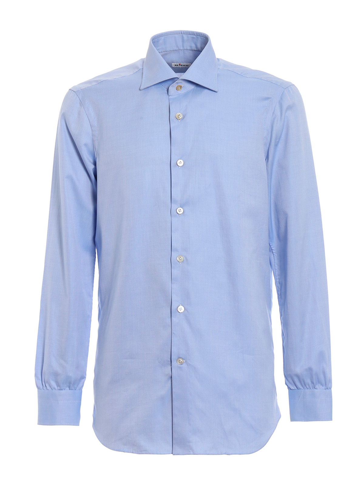 Picture of KITON | Men's Jacquard Cotton Shirt