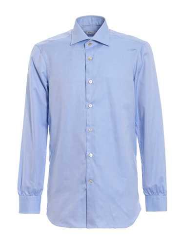 Picture of KITON | Men's Jacquard Cotton Shirt