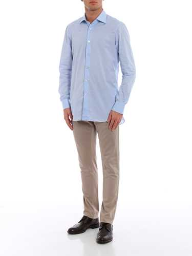 Immagine di KITON | Camicia Uomo in Popeline di Cotone