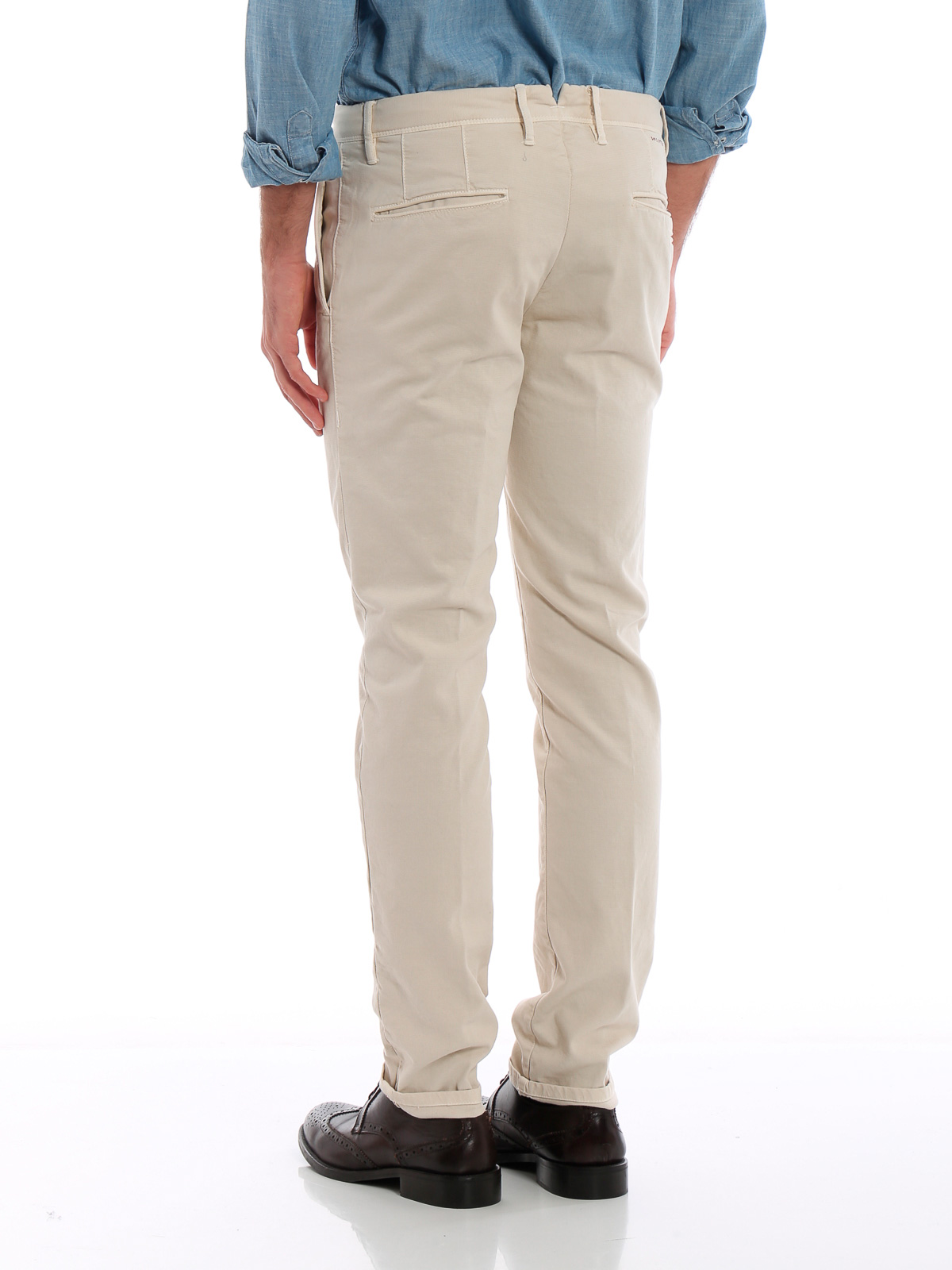 Picture of INCOTEX   Men's Stretch Cotton Trousers
