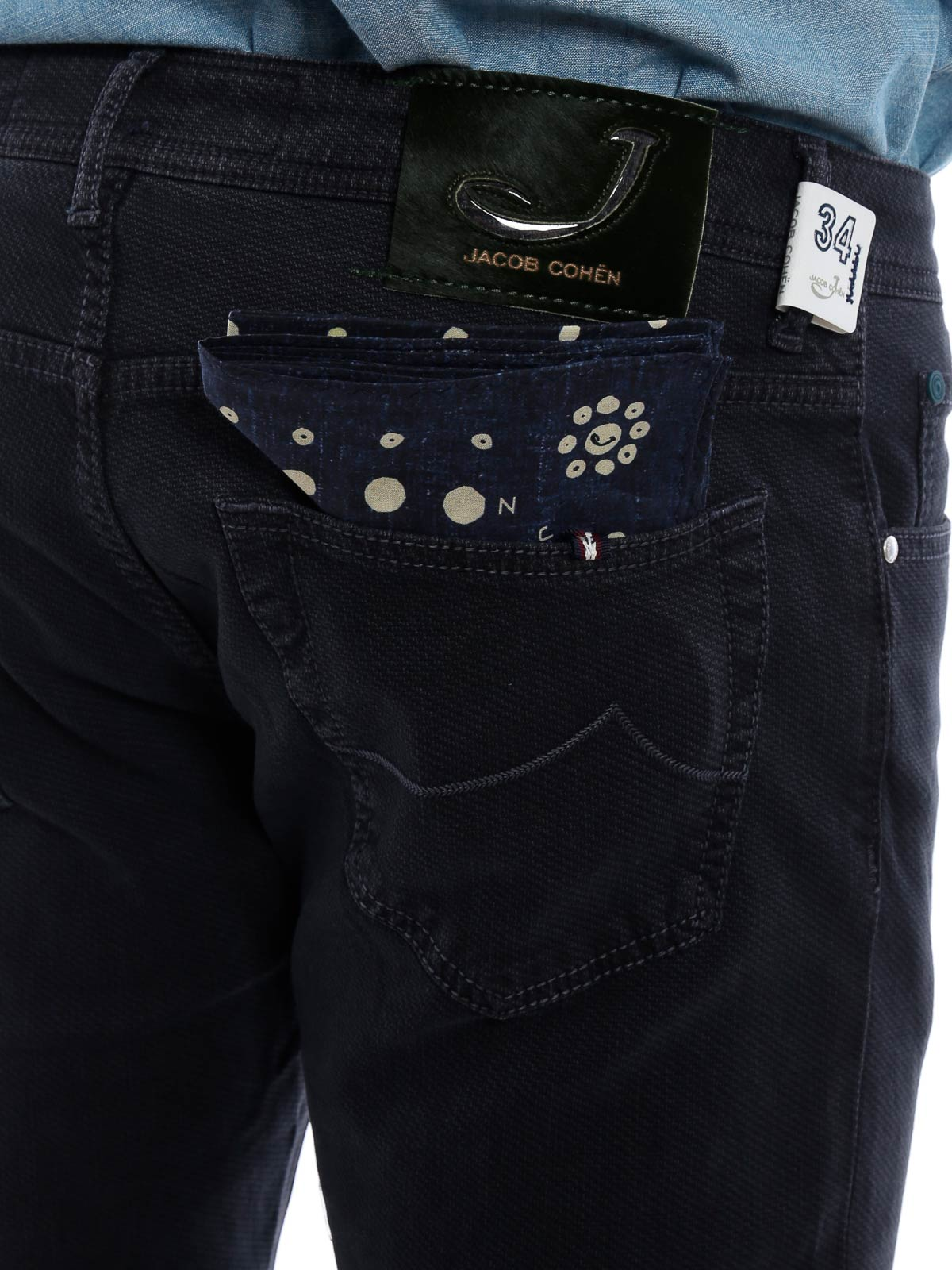 Picture of JACOB COHEN   Men's Style 622 Trousers