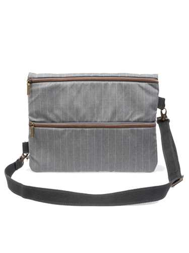 Immagine di MANTICO | BAG MESSENGER PIN POINT GREY
