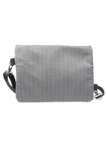 Picture of MANTICO | BAG MESSENGER PIN POINT GREY