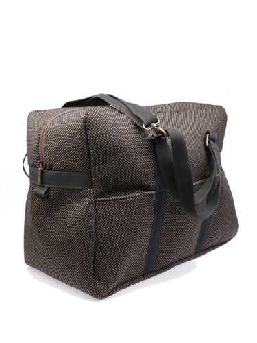 Picture of MANTICO | BAG SAKKO VOYAGE BROWN & DOTS