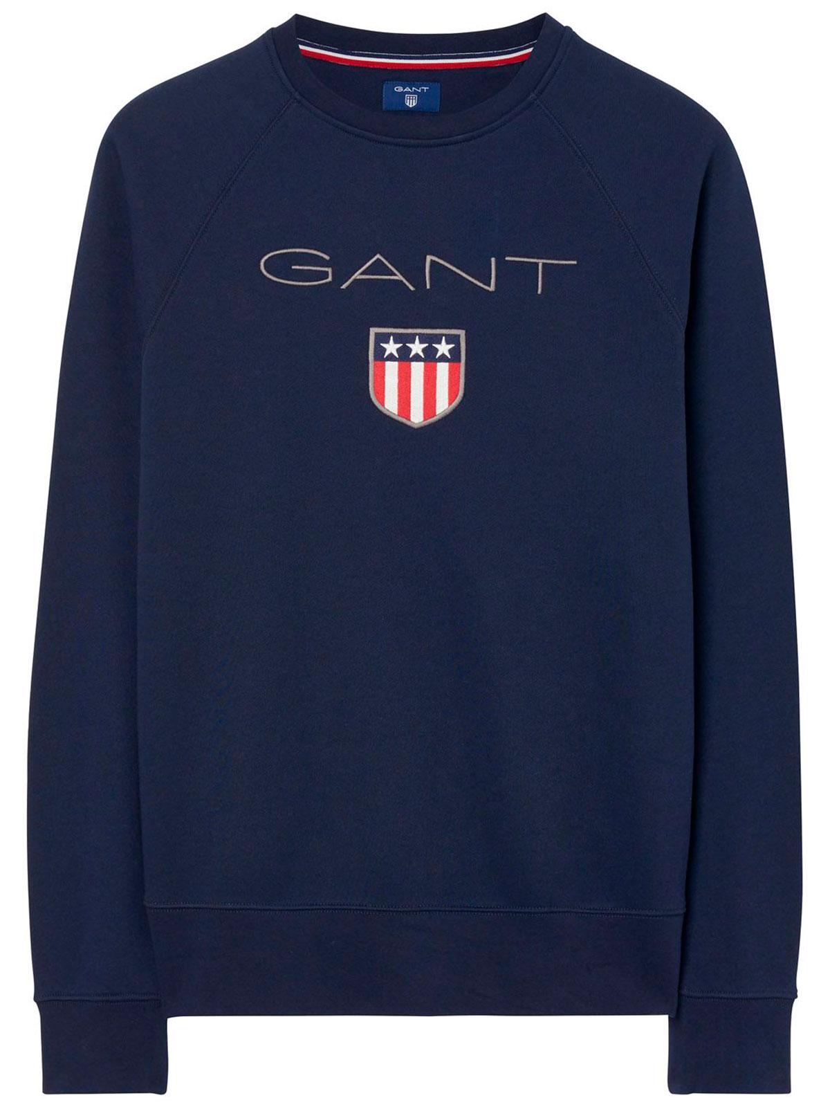 Picture of GANT | Men's Shield Crew Sweatshirt