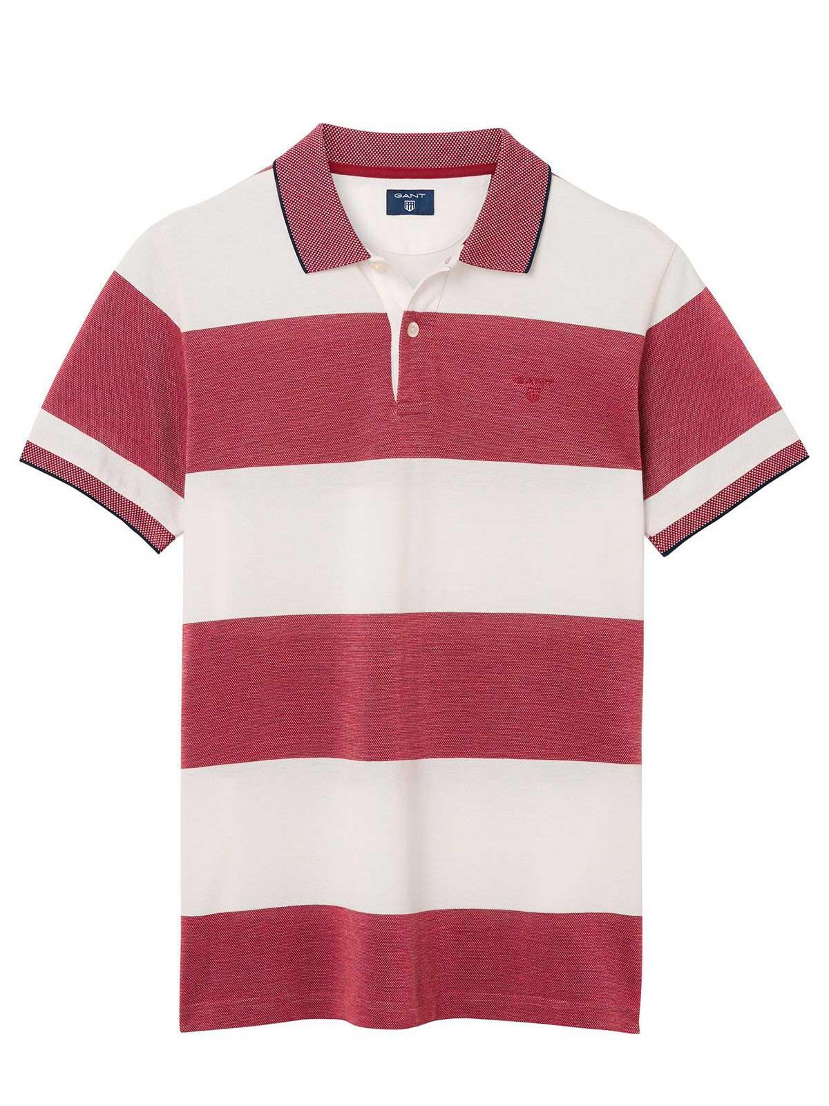 Picture of GANT | Men's Rugger Stripe Polo Shirt