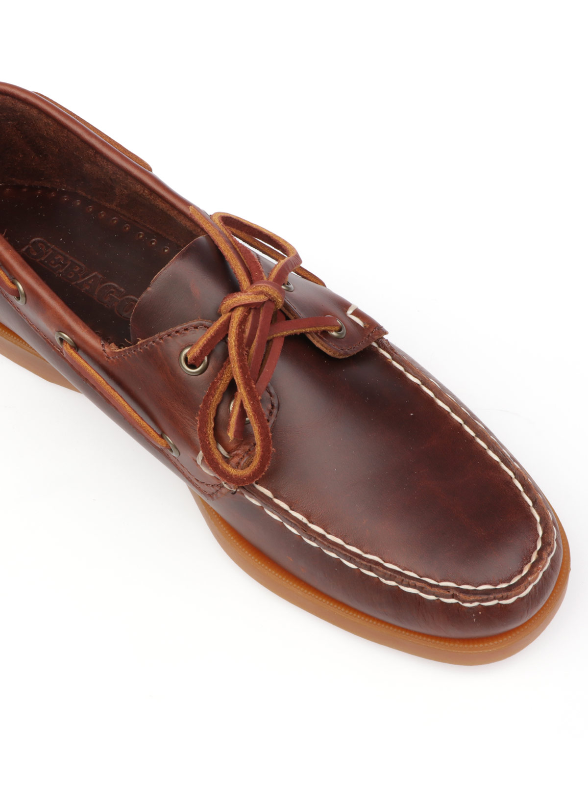 Picture of SEBAGO | Men's Docksides Portland Waxed Loafer