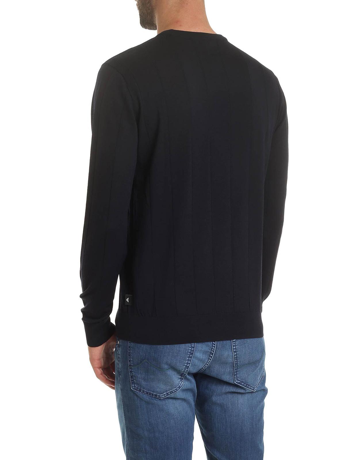 Picture of EMPORIO ARMANI | Men's Virgin Wool Pullover