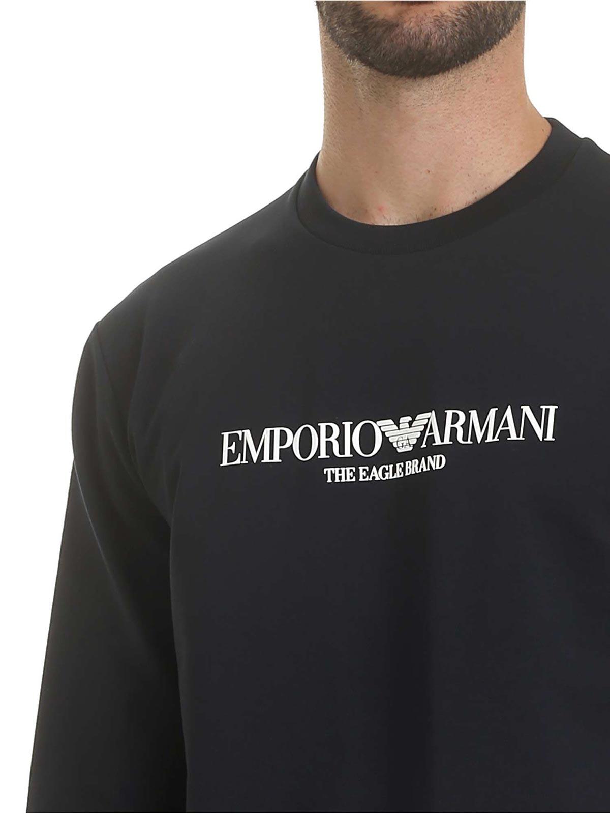 Picture of EMPORIO ARMANI   Men's Printed Sweatshirt