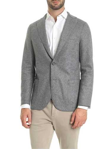 Picture of ELEVENTY | Men's Wool Blazer with Patches