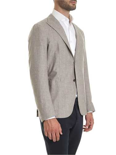 Picture of ELEVENTY | Men's Silk and Cashmere Blazer