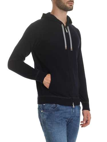 Picture of ELEVENTY | Men's Knitted Hooded Cardigan