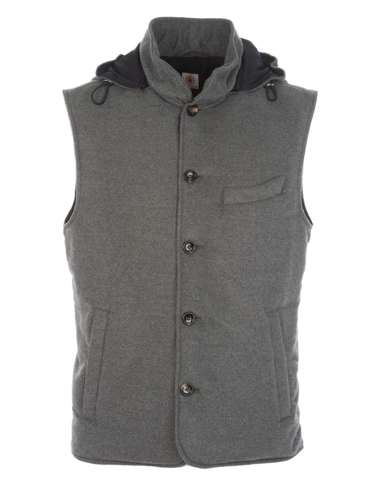 Picture of BORRELLI | Suit Vest with Hood