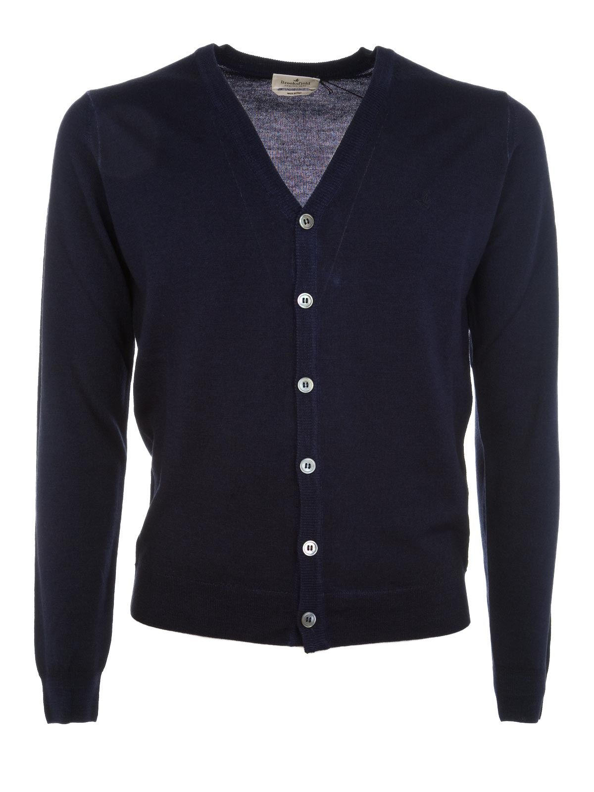 Picture of BROOKSFIELD | Wool Cardigan Sweater