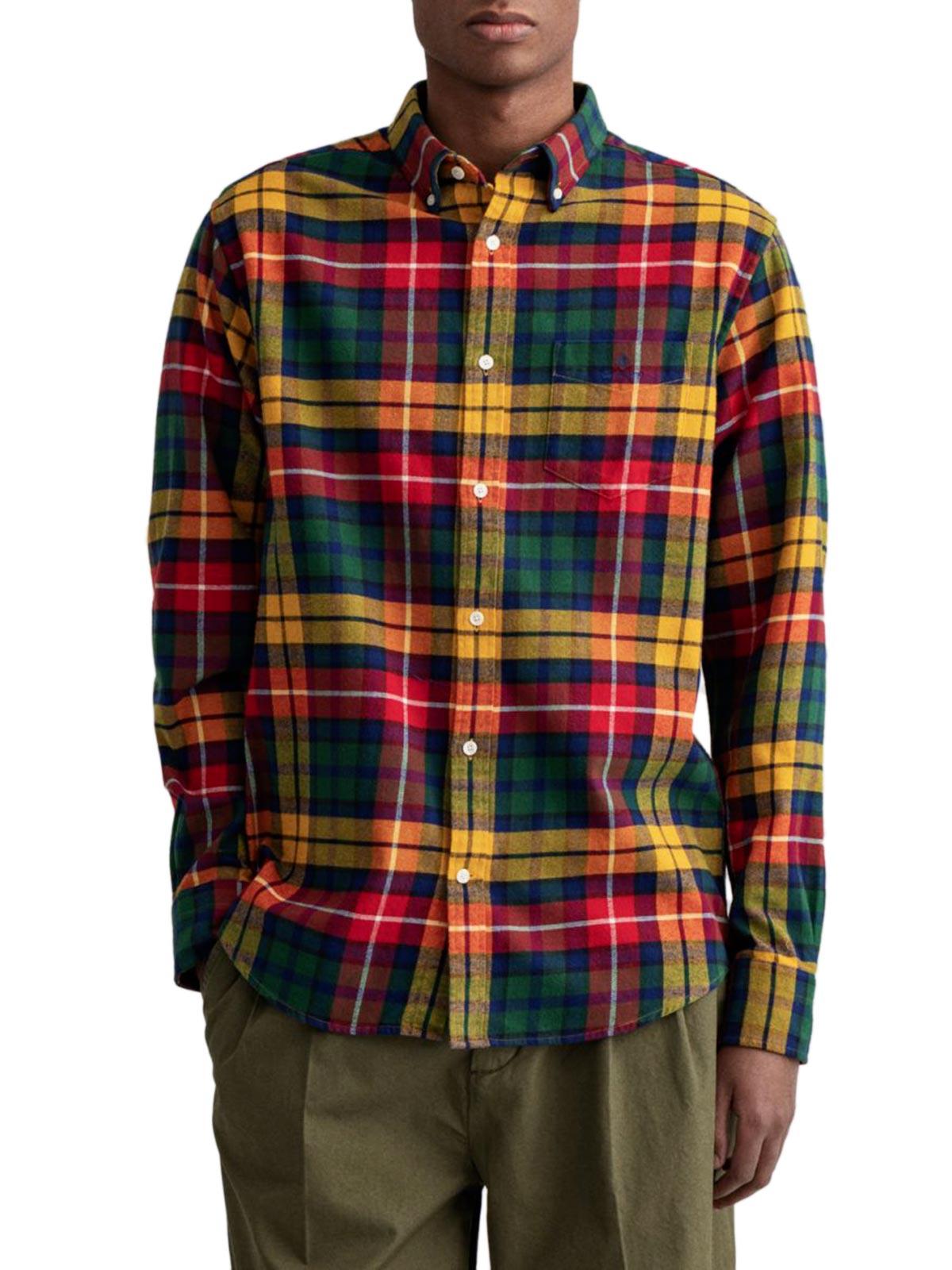Immagine di Gant   Camicie D1. Reg Flannel Check Bd