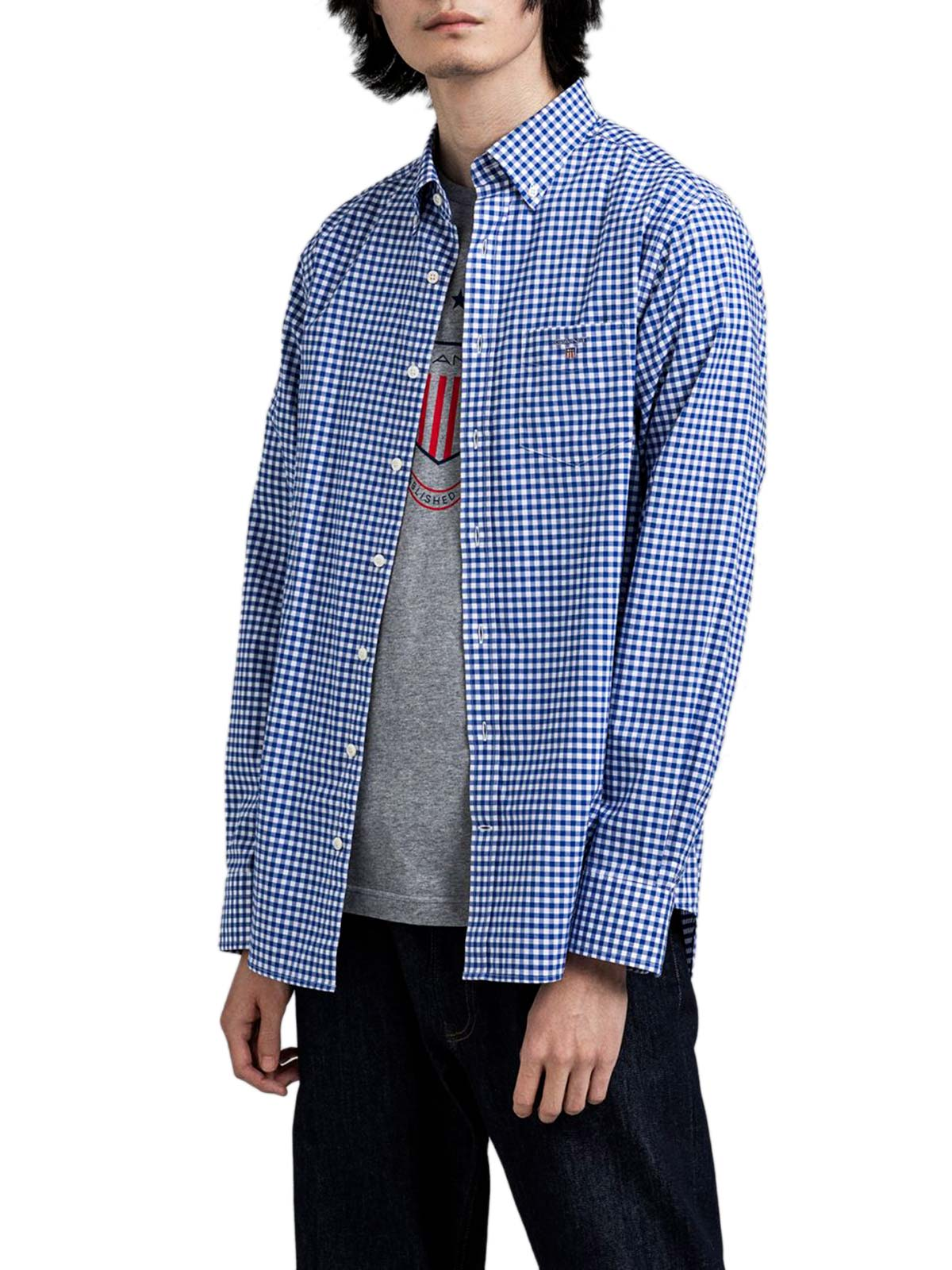 Immagine di Gant | Camicie Reg Broadcloth Gingham Bd