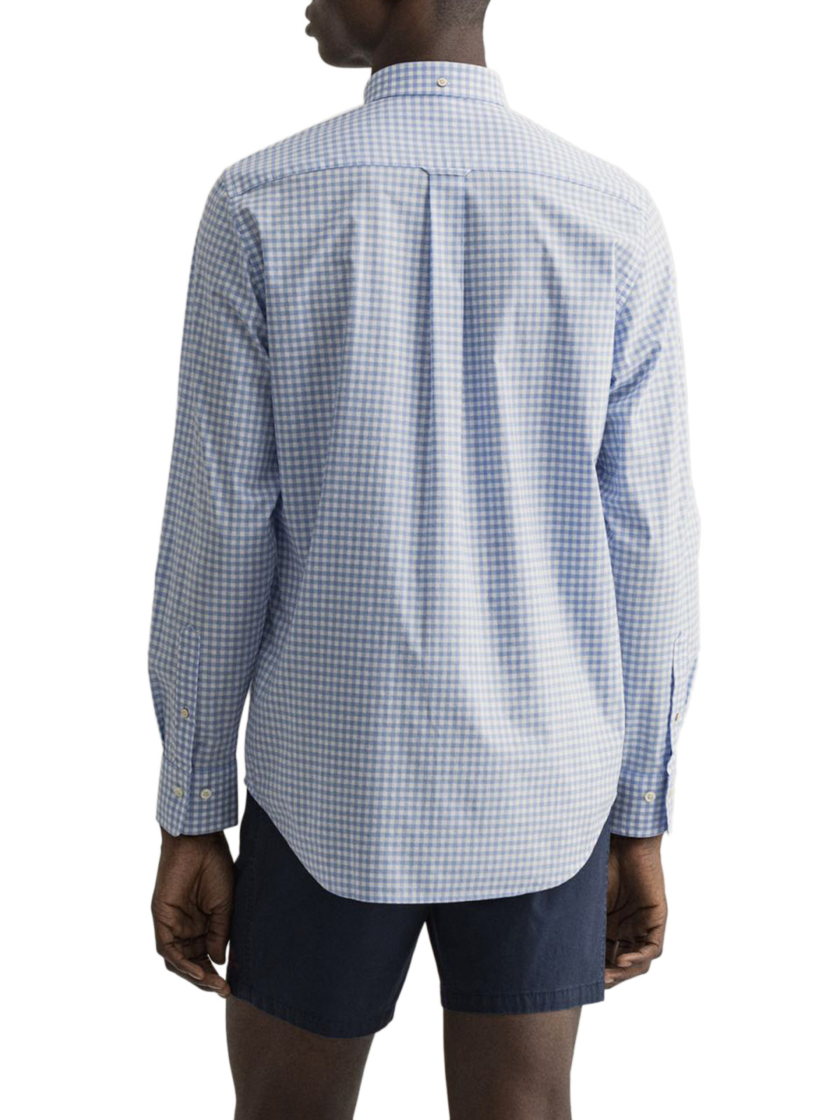 Picture of Gant | Camicie Reg Broadcloth Gingham Bd