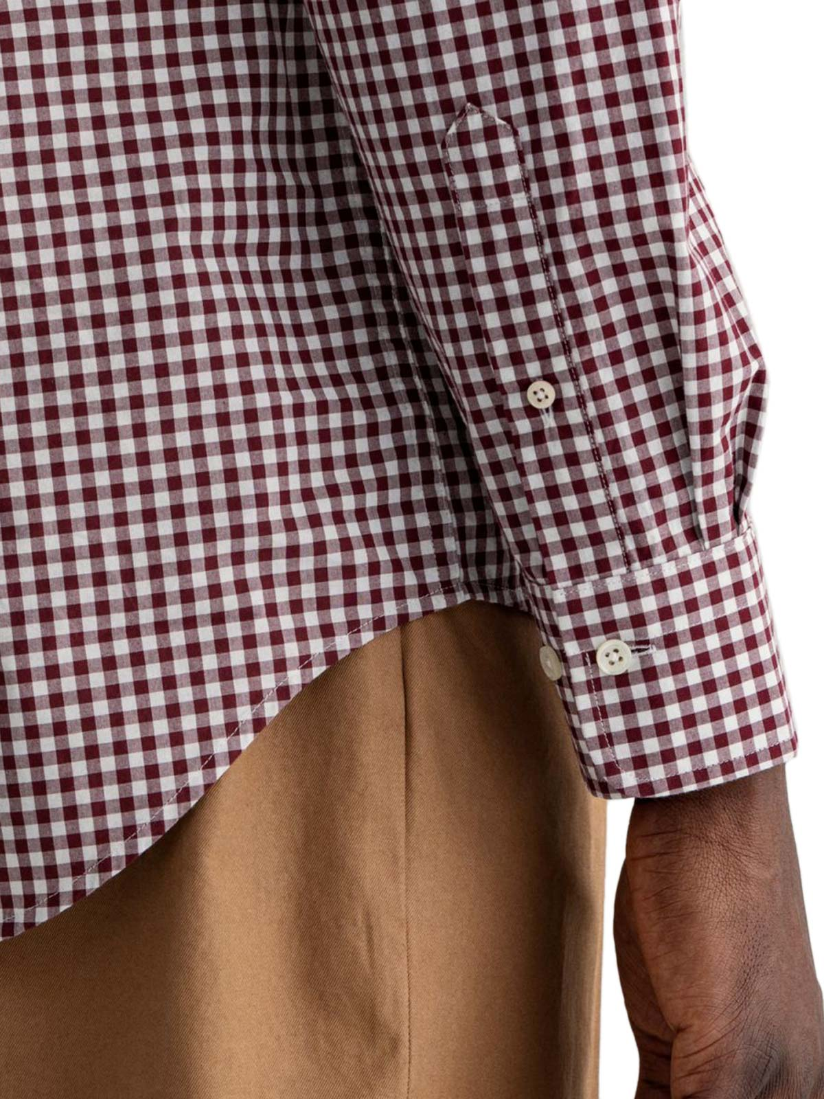 Picture of Gant   Camicie Reg Broadcloth Gingham Bd
