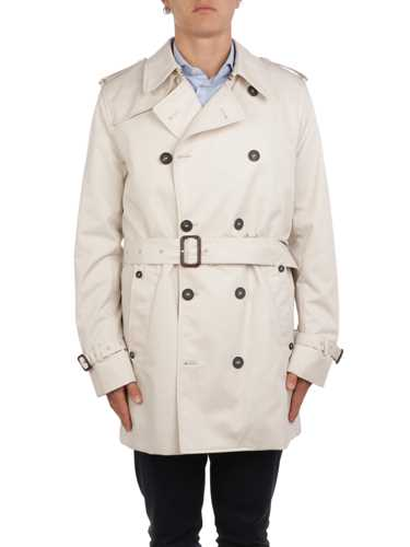 Picture of AQUASCUTUM | Men's Richmond Double-Breasted Trench Coat