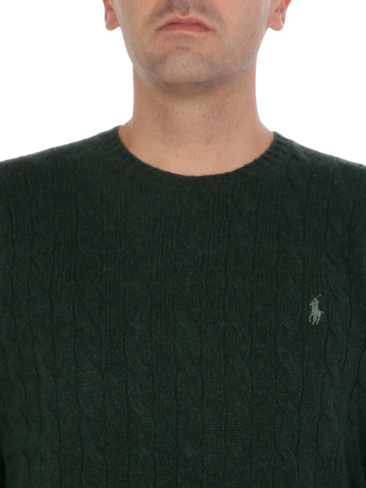 Picture of POLO RALPH LAUREN | Men's Cabled Sweater