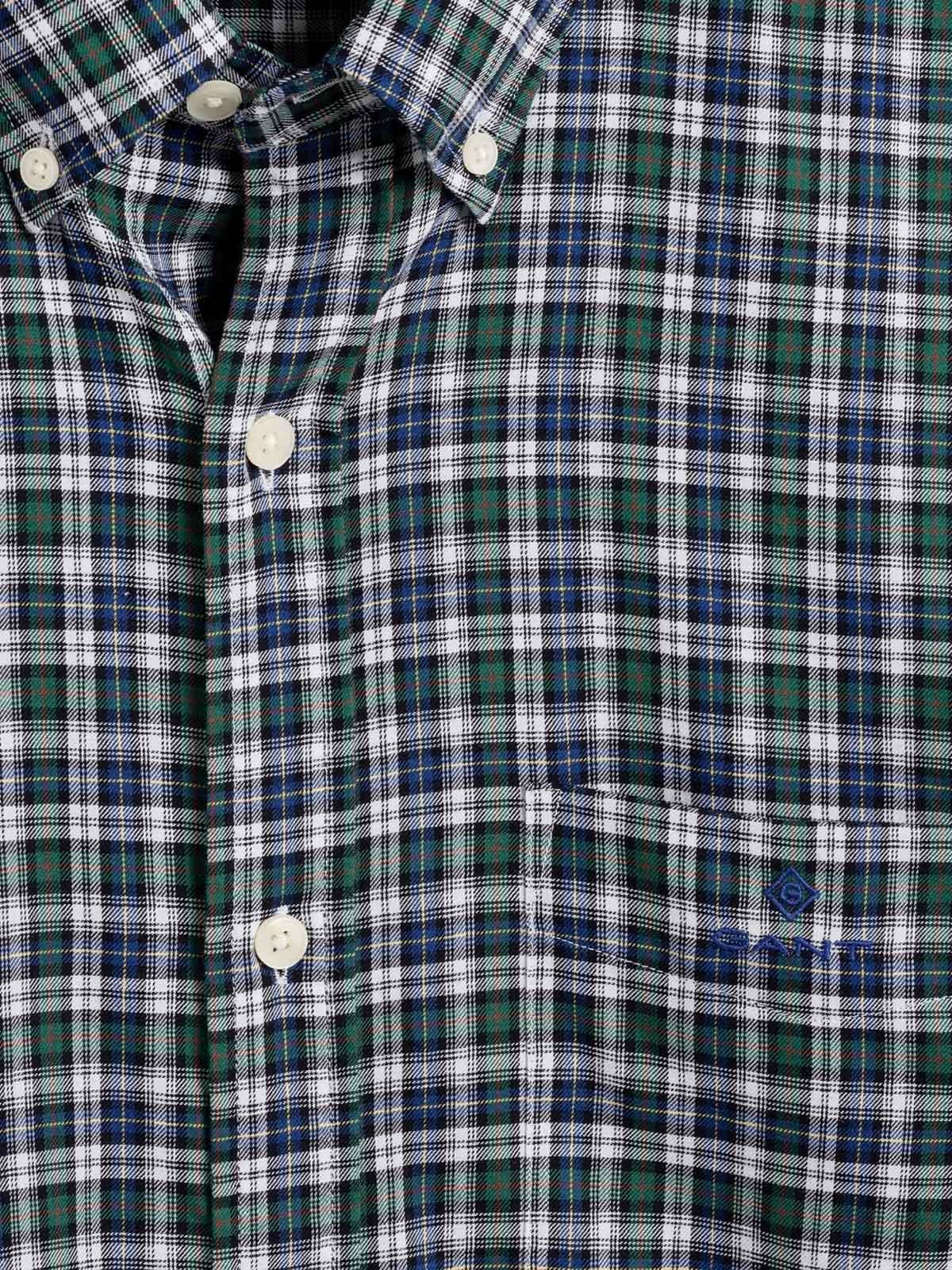 Picture of Gant | Camicie D1. Tp Twill Micro Tartan Reg Bd