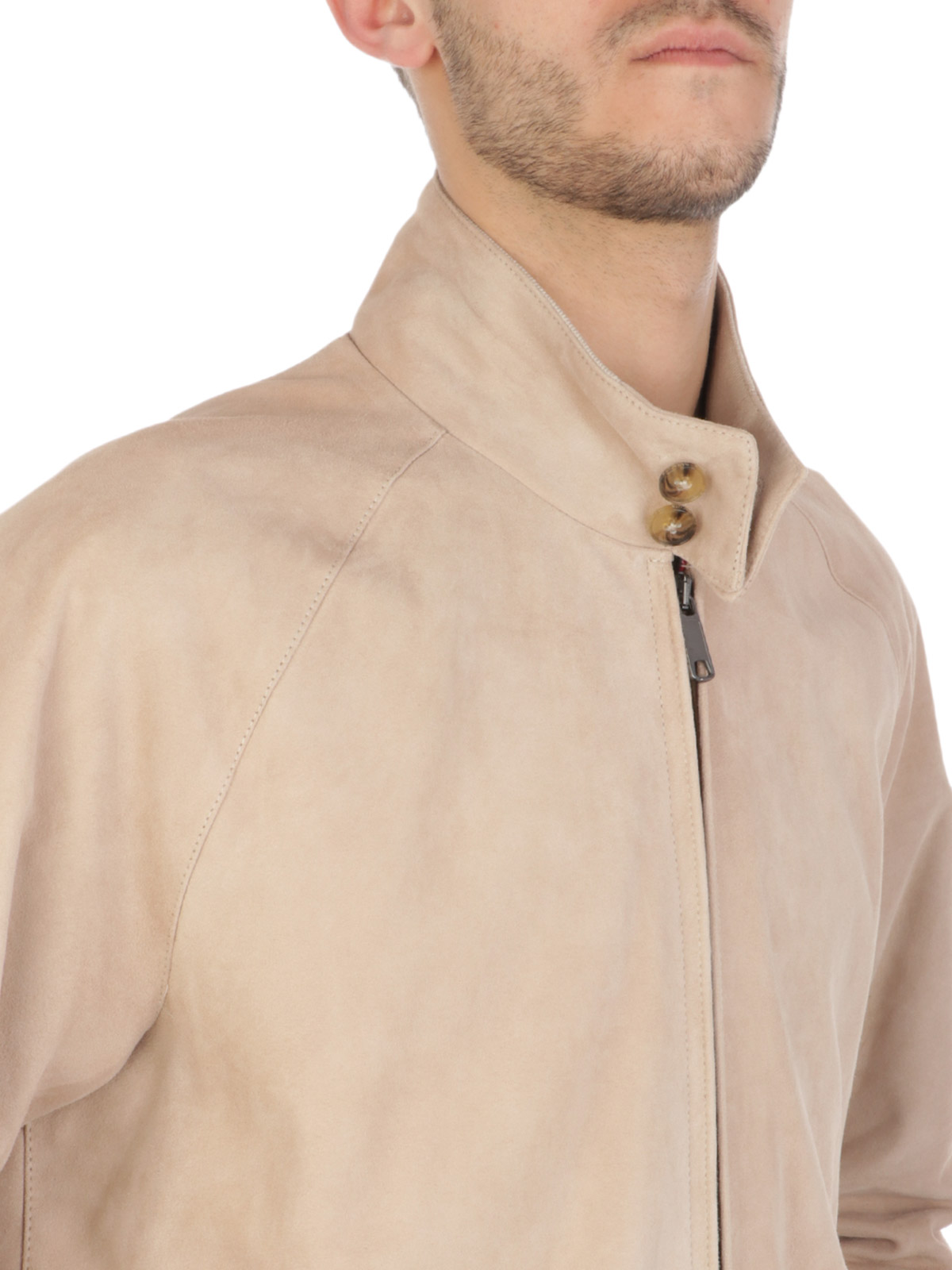 Picture of BARACUTA | Men's G9 Harrington Suede Jacket