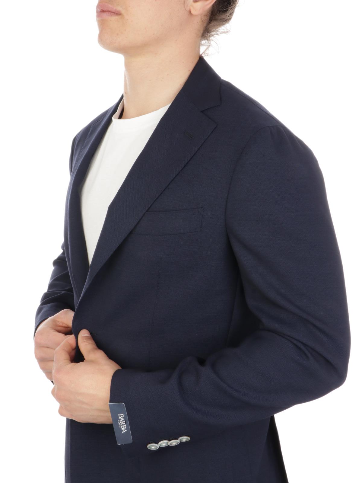 Picture of BARBA | Men's GJimmy Virgin Wool Blazer
