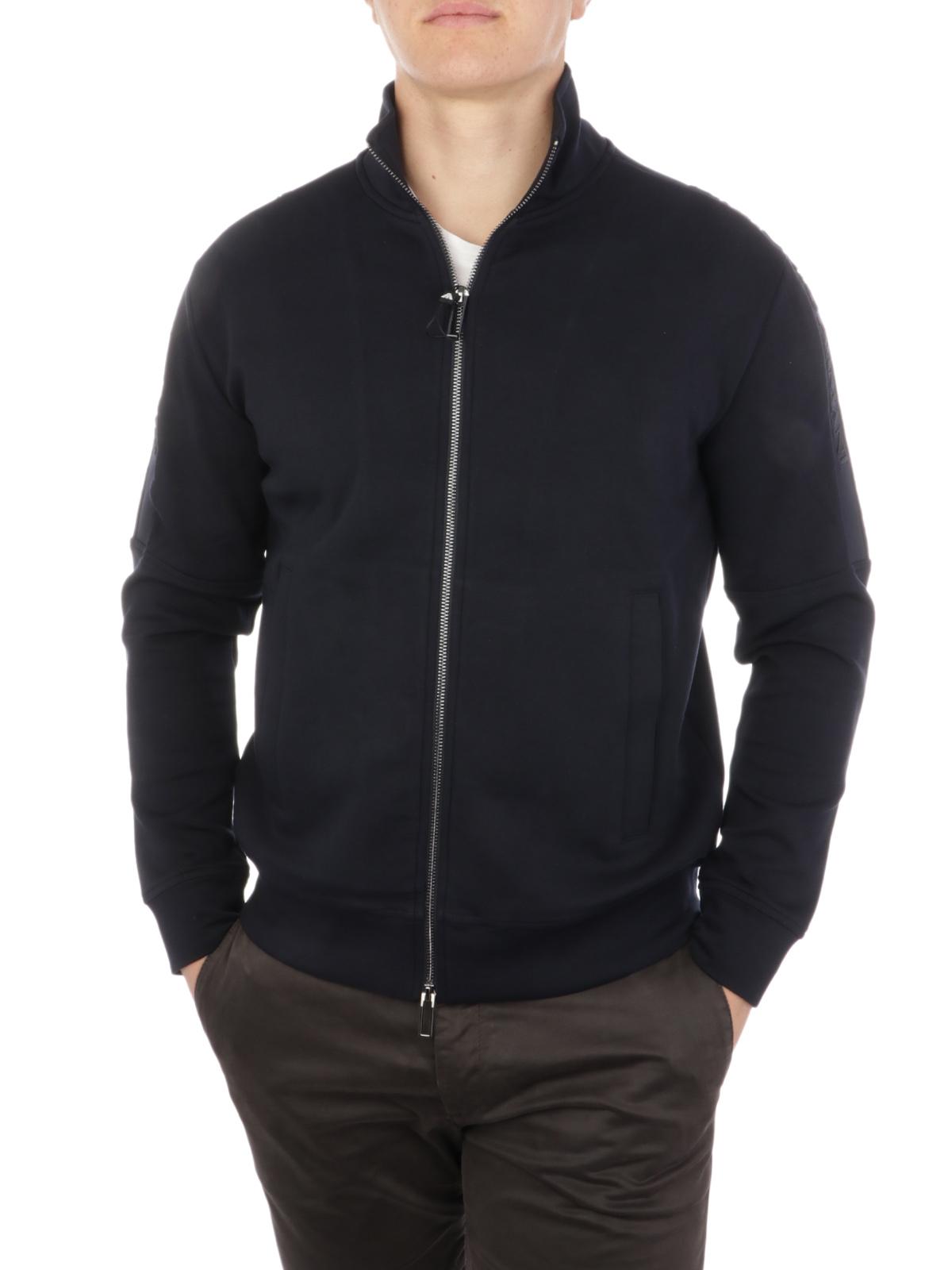 Picture of EMPORIO ARMANI | Men's Double Jersey Sweatshirt