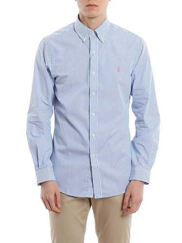 Picture of POLO RALPH LAUREN | Men's Slim Fit Poplin Shirt