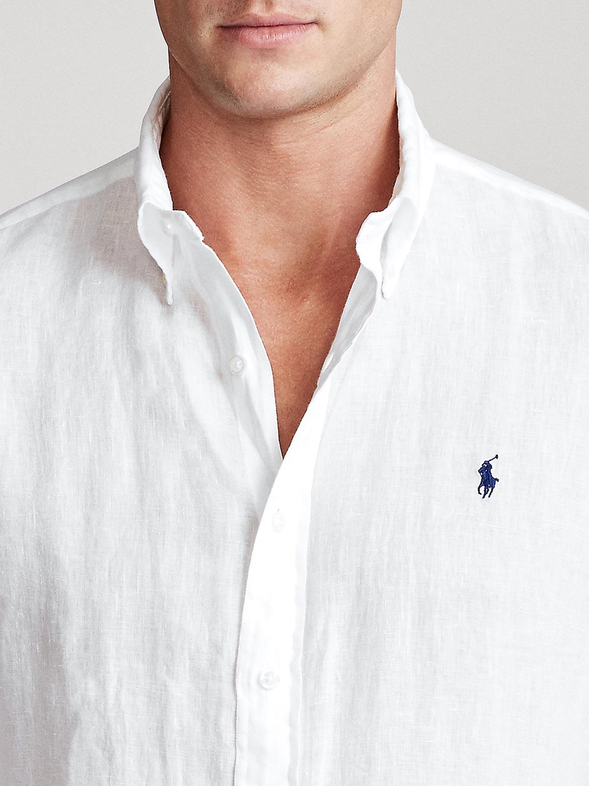 Picture of POLO RALPH LAUREN | Men's Linen Custom Fit Shirt