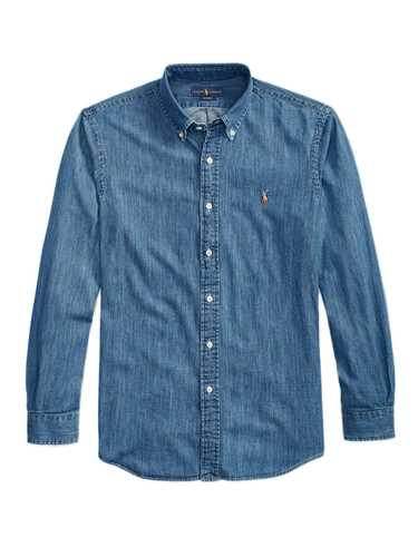 Immagine di POLO RALPH LAUREN | Camicia Uomo in Denim Custom Fit