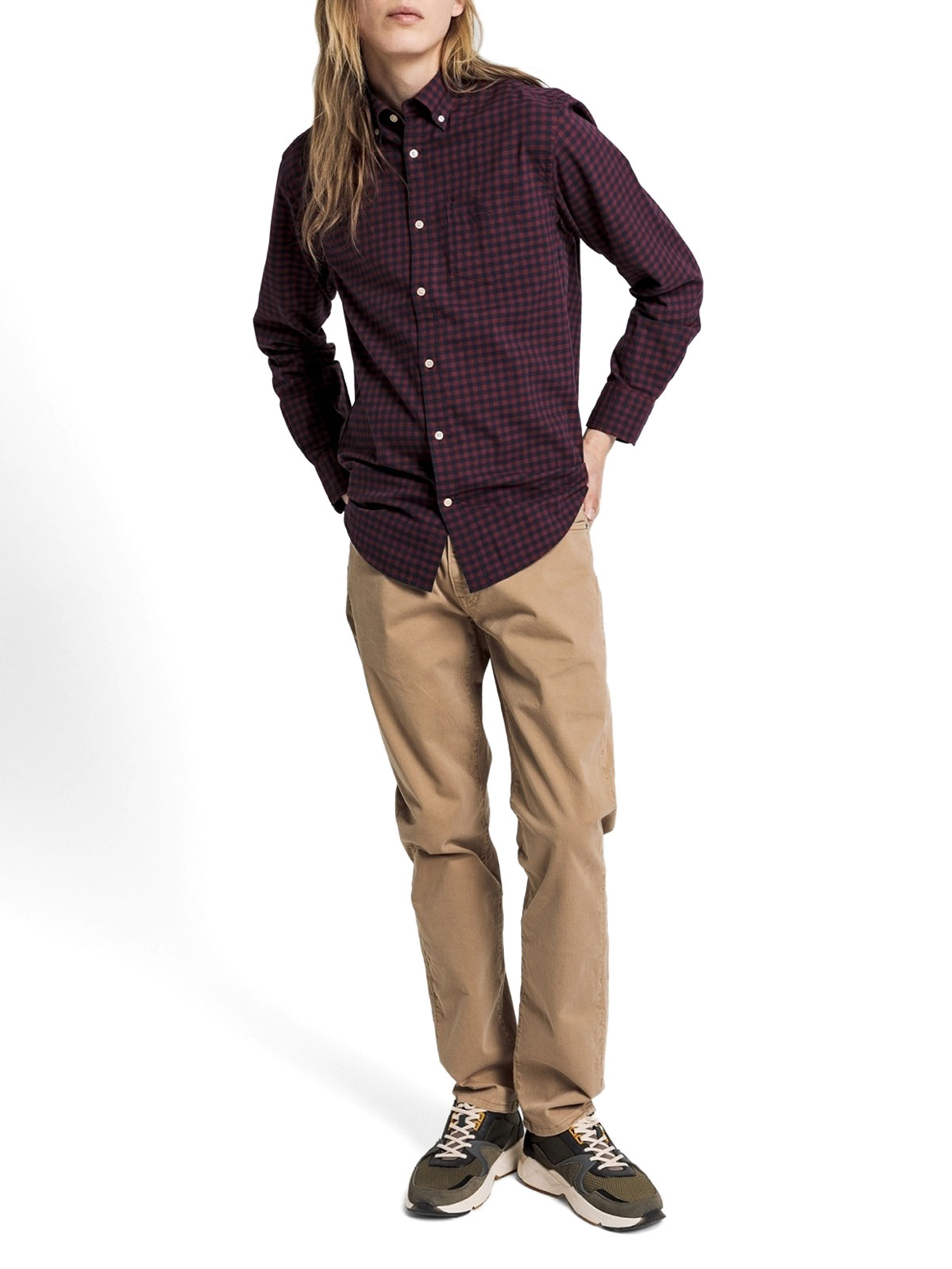 Picture of Gant | Camicie D2.Winter Twi Buffalo Check Reg Bd