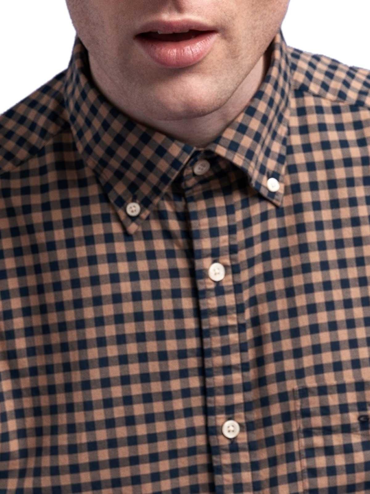 Picture of Gant | Camicie D2.Winter Twi Buffalo Check Reg Bd