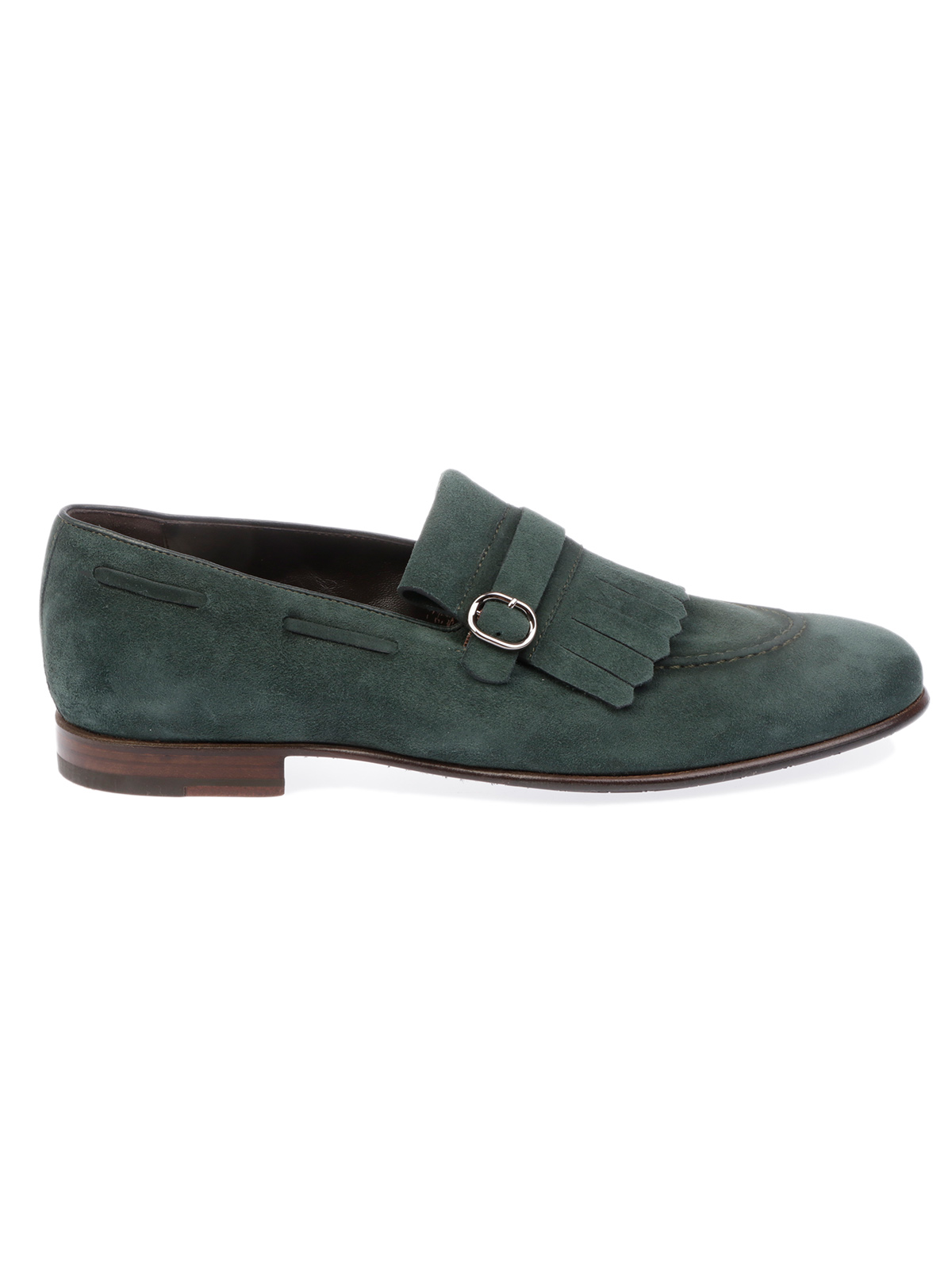 Picture of BARRETT | Men's Suede Moccasin with Fringes