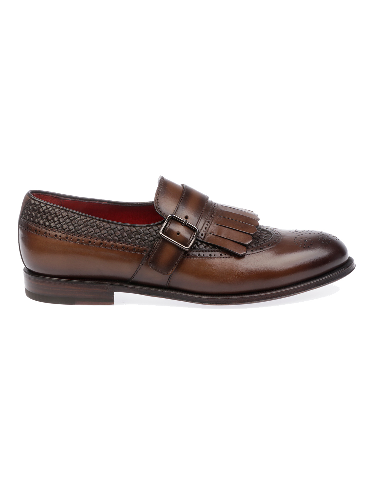 Picture of BARRETT | Men's Moccasin with Fringes