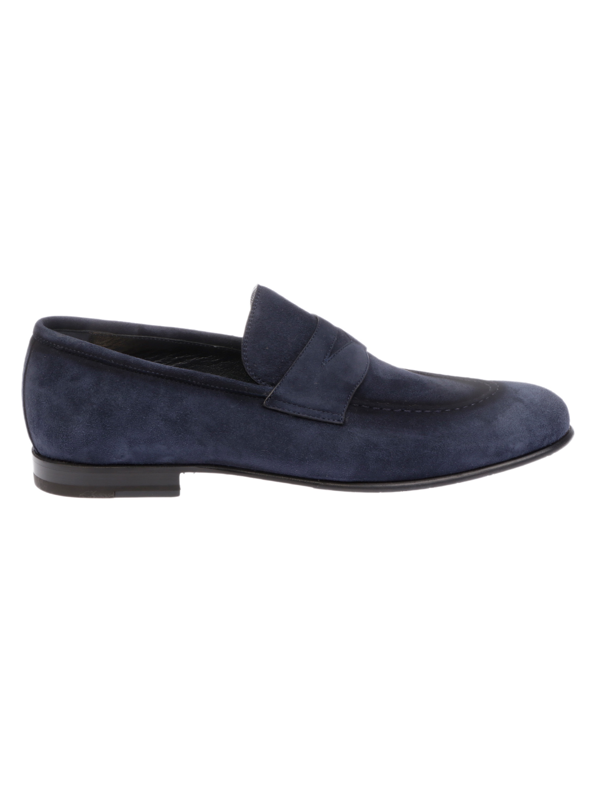 Picture of BARRETT | Men's Suede Penny Loafer
