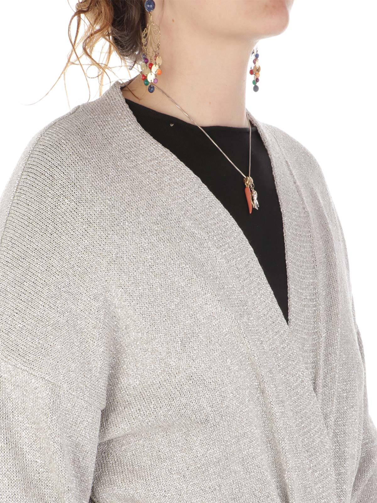 Picture of KAOS | Women's Glittered Cardigan