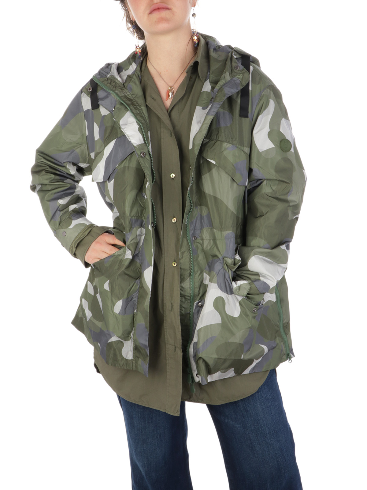 Picture of SAVE THE DUCK | Women's Geneva Raincoat