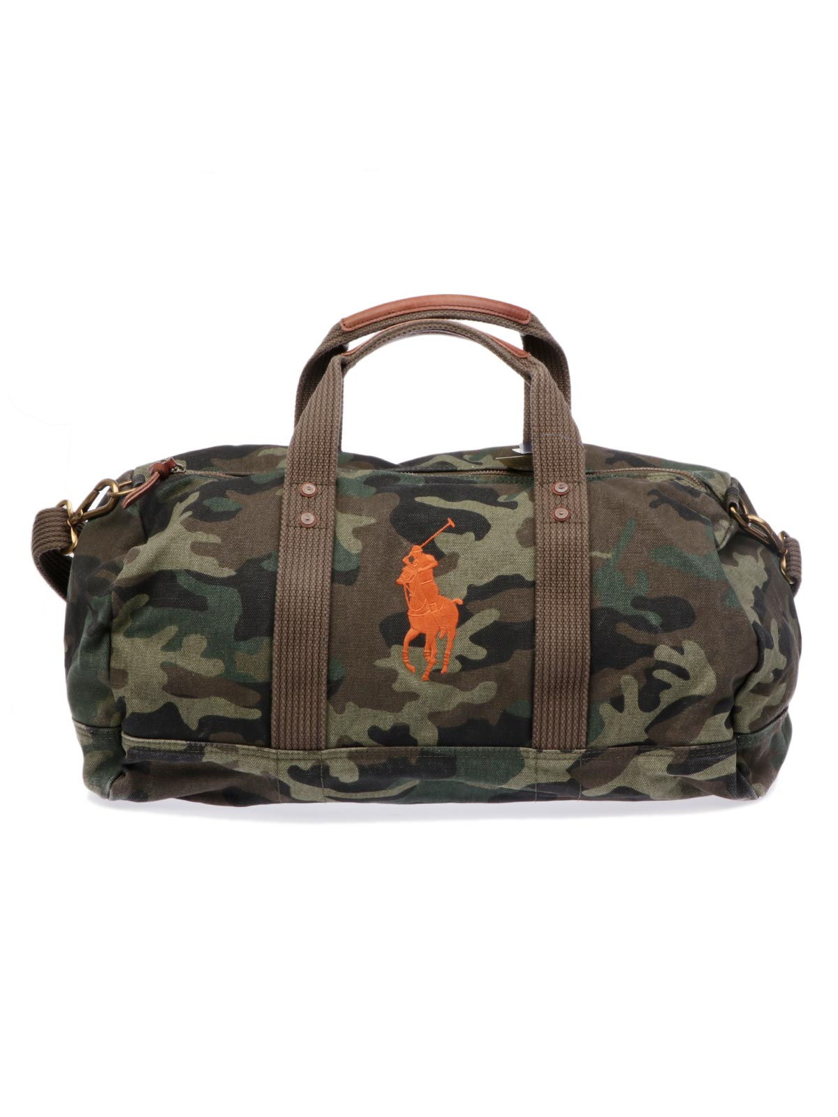 Picture of POLO RALPH LAUREN | Men's Camouflage Canvas Duffle Bag