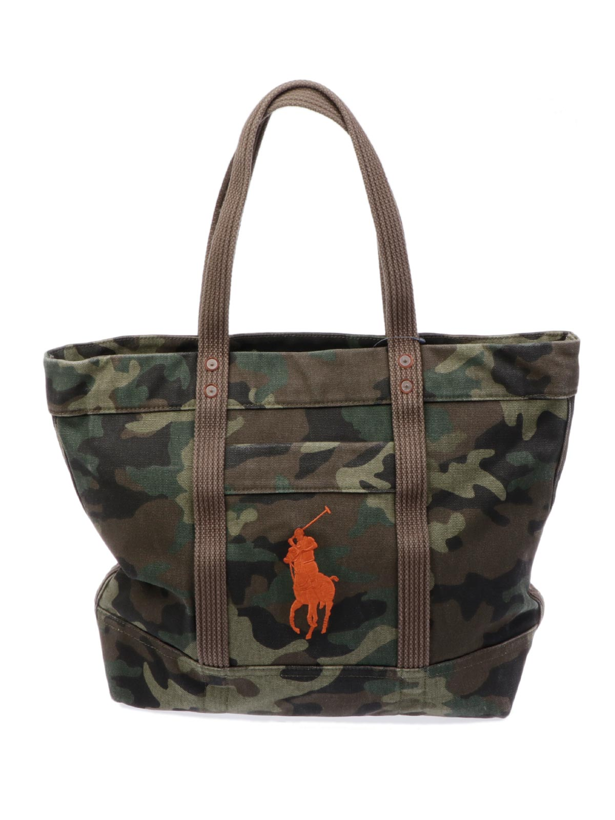 Picture of POLO RALPH LAUREN | Camouflage Canvas Bag
