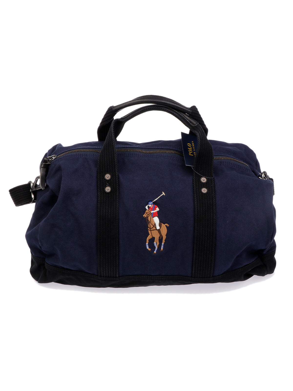 77cad72963a4 POLO RALPH LAUREN Men s Canvas Duffle Bag Navy
