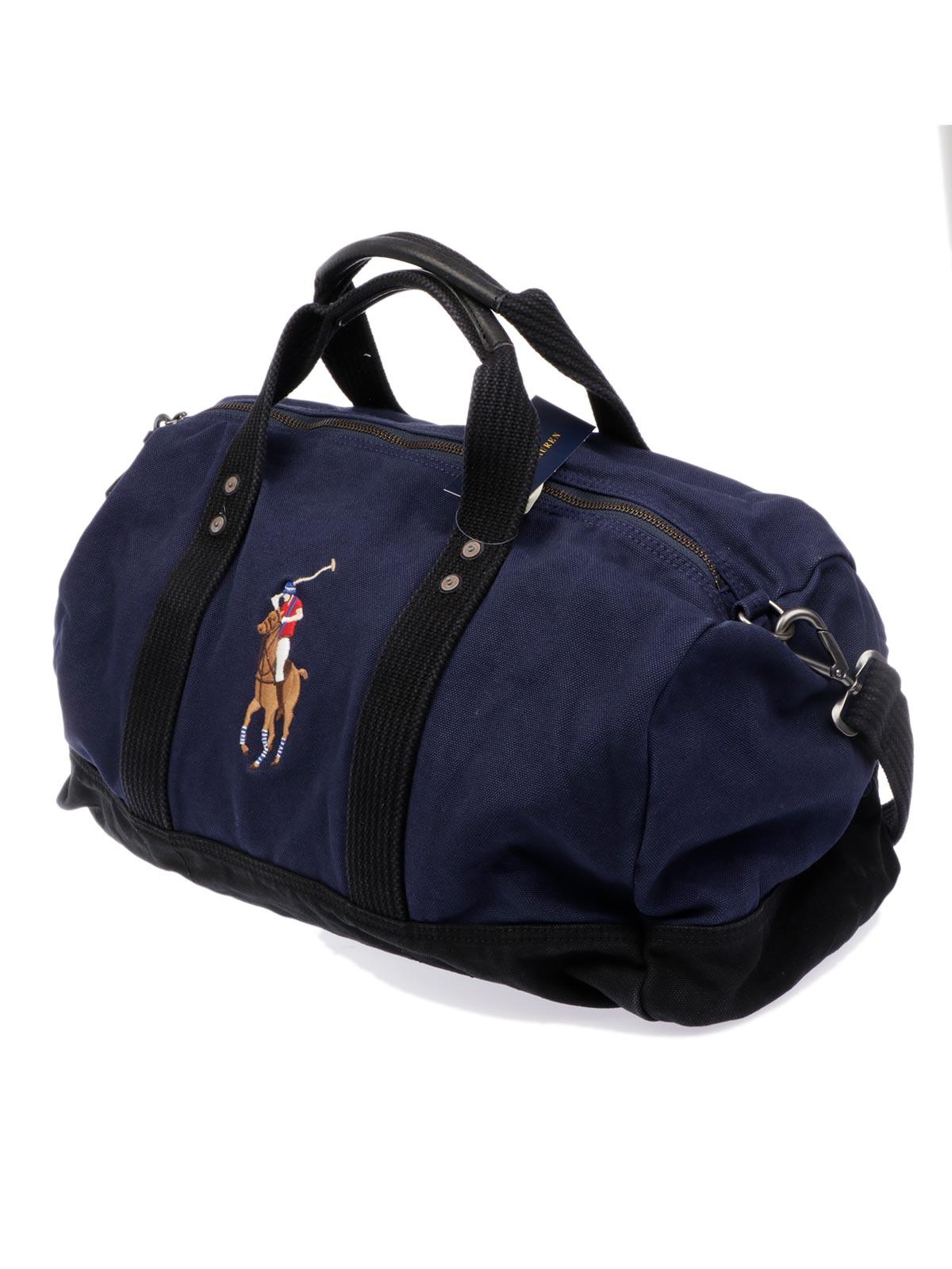 1718f91ade65 POLO RALPH LAUREN Men s Canvas Duffle Bag Navy