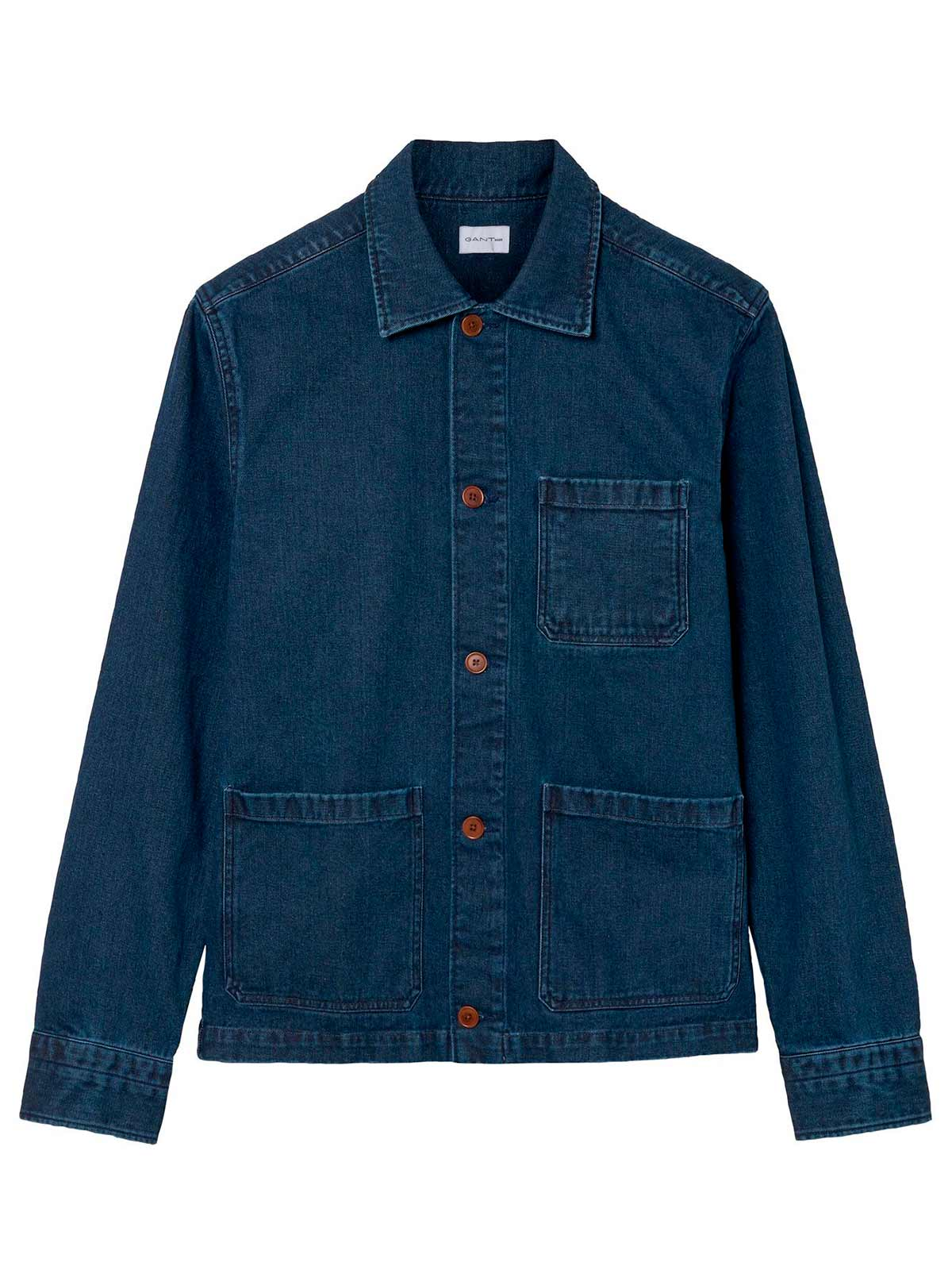 Picture of GANT | Camicie R2. THE DENIM OVERSHIRT