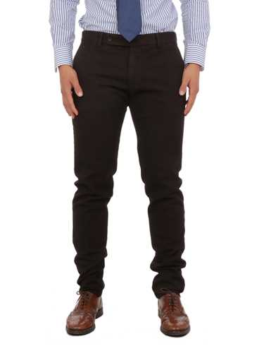 Picture of BERWICH | Men's Bird's Eye Trousers