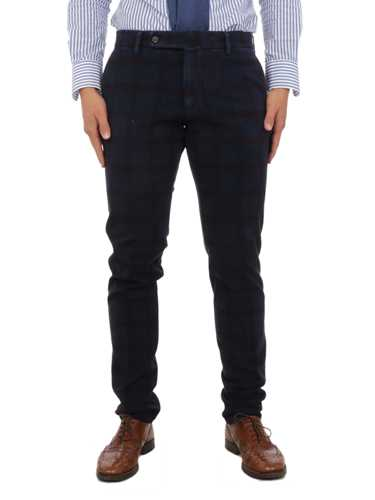 Picture of BERWICH | Men's Stretch Check Trousers