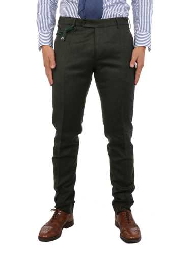 Picture of BERWICH | Men's Virgin Wool Trousers