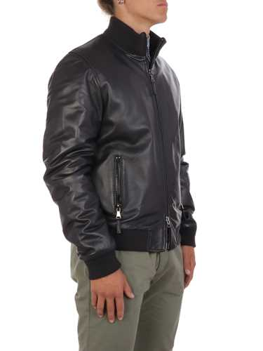 Picture of THE JACK LEATHERS | Men's Derek Rib Leather Jacket