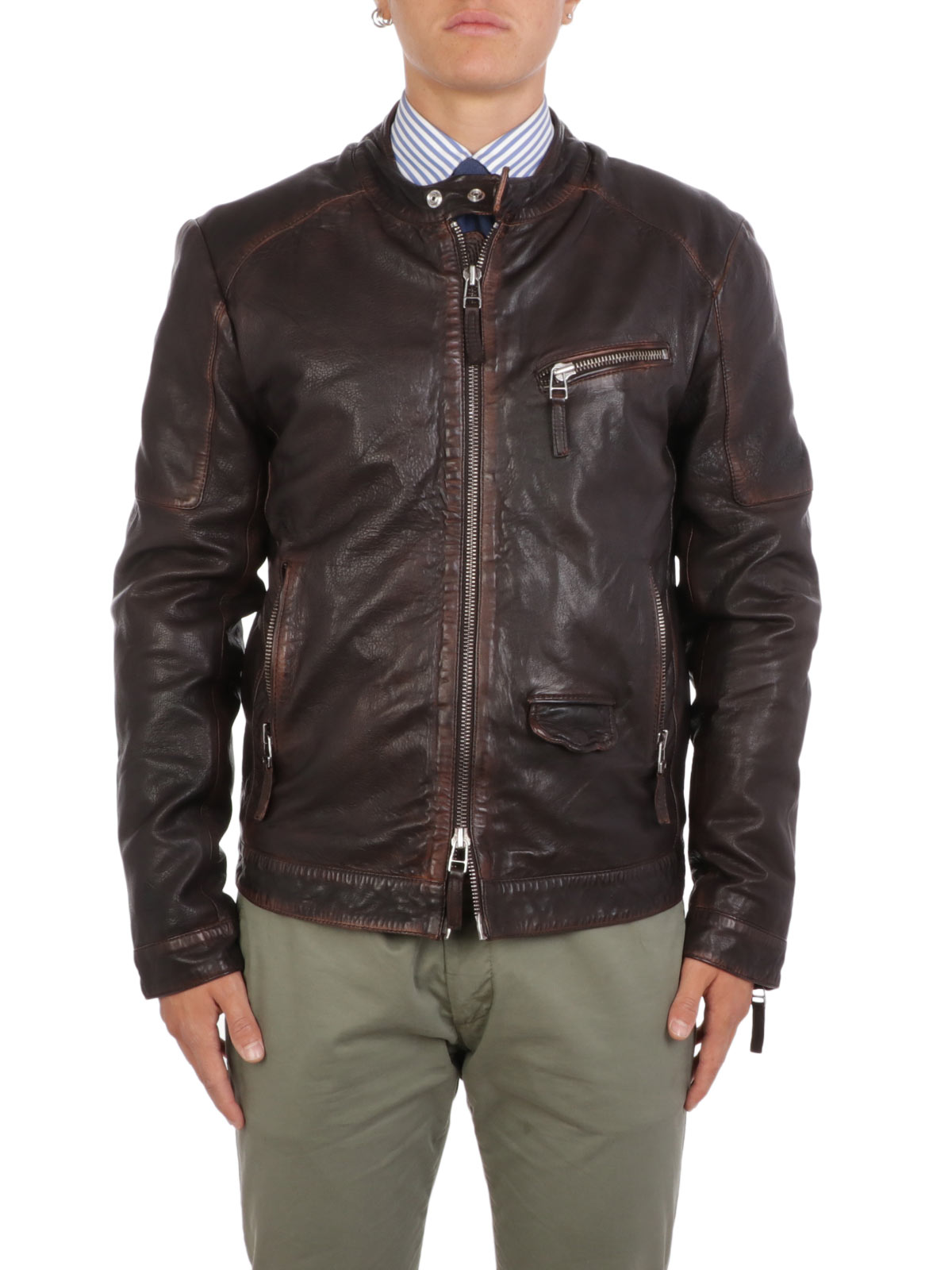 Picture of THE JACK LEATHERS | Men's D-Bandit Leather Jacket